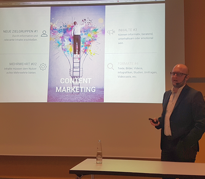 Rückblick: Content Marketing am 15. Mai 2018